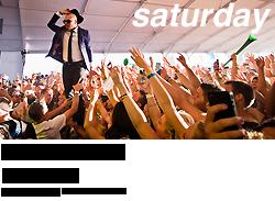 Coachella 2013, Saturday
