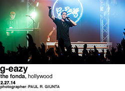 G-Eazy at The Fonda
